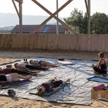 Gina Pitti Equi-Attah yoga à cheval conscience corporelle