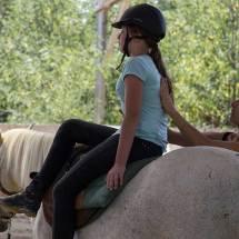Gina Pitti Equi-Attah yoga à cheval être tonique et décontractée