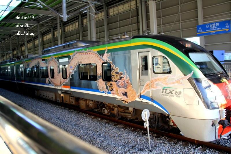 韓國交通》京春線高速列車之ITX青春列車+地鐵轉換ITX列車注意事項(路線包含:龍山、清涼里、 上鳳、 清平、 加平、 南春川、春川…等大站)+加平郡觀光巴士資訊