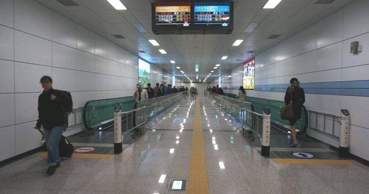 韓國自由行資訊》首爾站 Arex機場快線與地鐵1、4號線快速通道開通囉!