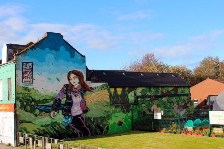 Murals East Belfast - die Murals im Osten von Belfast www.gindeslebens.com