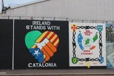 Peace Wall und Murals in Belfast - die Murals im Westen von Belfast Peace Wall www.gindeslebens.com