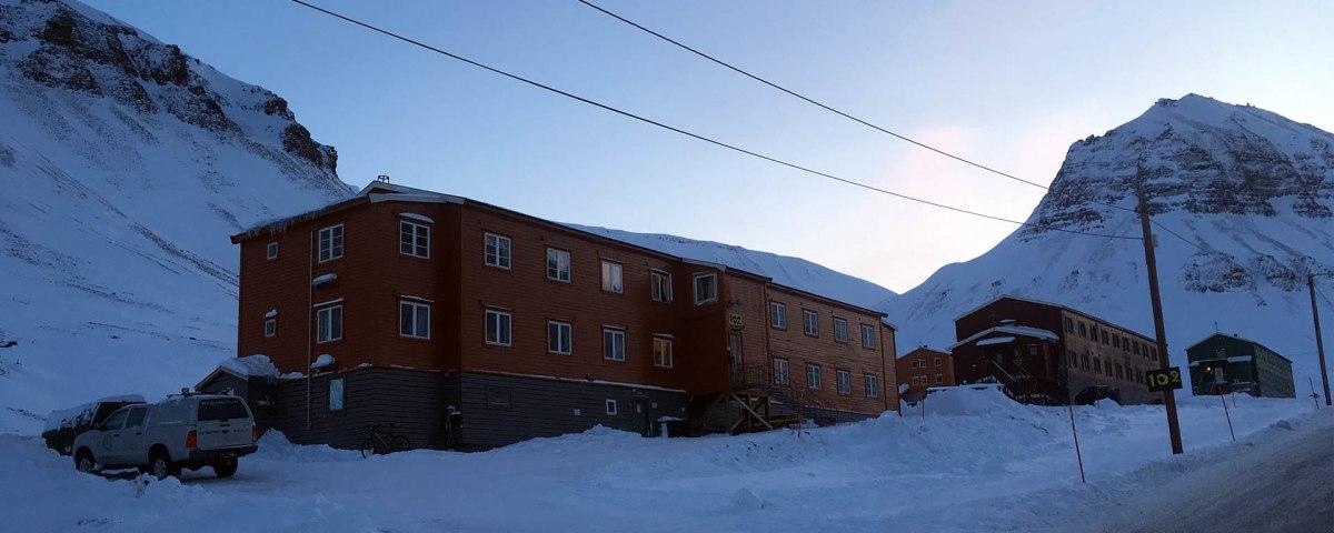 Unterkunft Spitzbergen Gjestehuset 102 in Longyearbyen