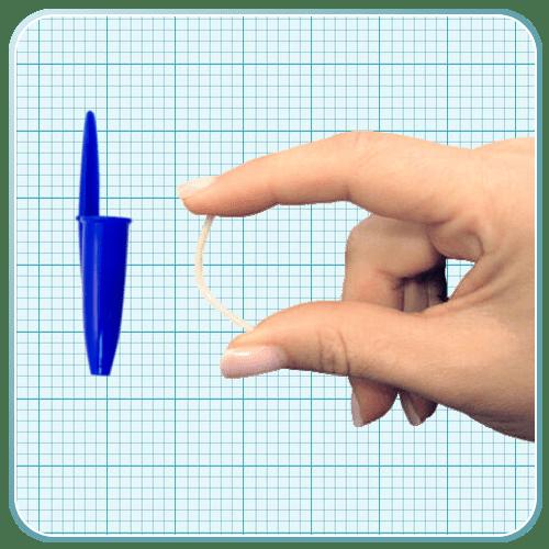tamaño del implante subcutáneo hormonal