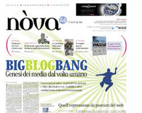 Nòva n° 56: Big Blog Bang - Genesi dei media dal volto umano