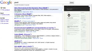 Google Instant Previews - un esempio