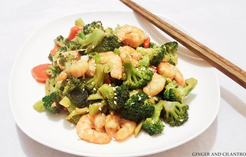 Shrimp and Broccoli Stirfry WokSkillet 20170122 (2)