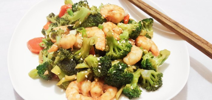 Shrimp and Broccoli Stirfry WokSkillet 20170122 (2)
