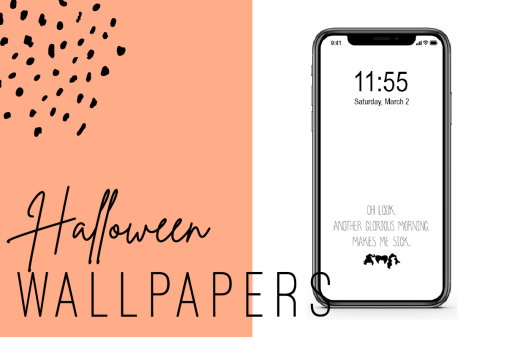 Spooky Halloween Iphone Wallpapers Ginger And Ivory