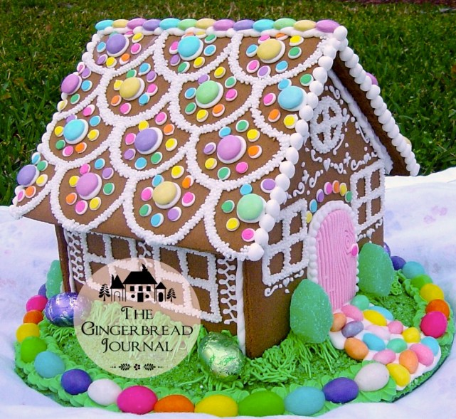 gingerbread house Easter Cwm