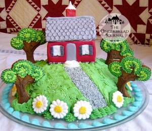 gingerbread house Virginia Lee Burton