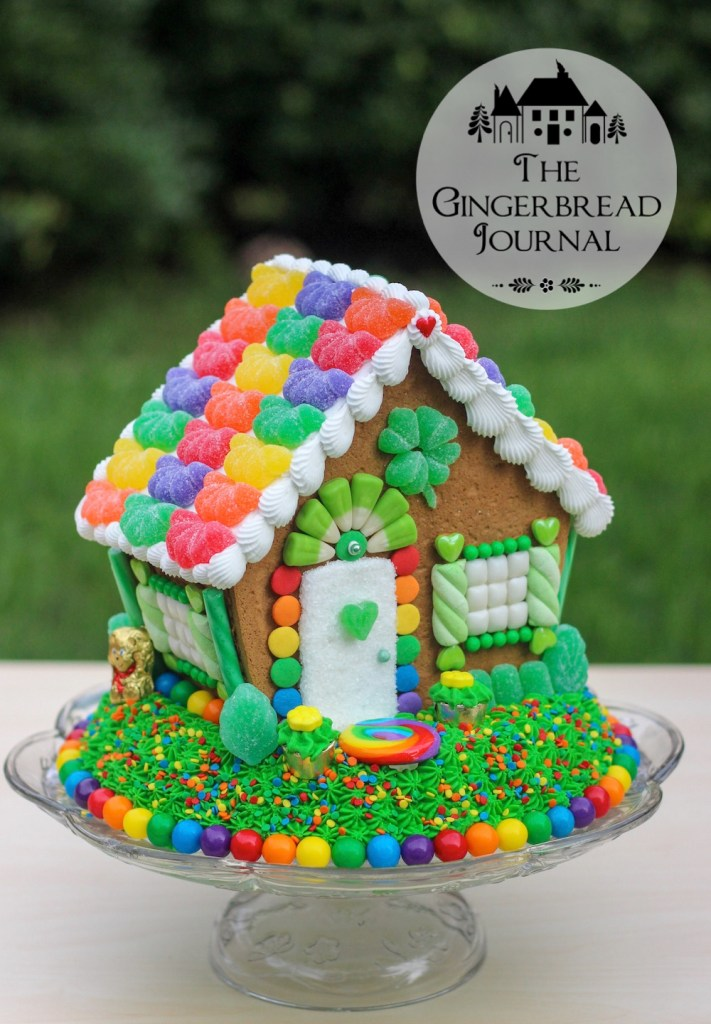 gingerbread house St. Patrick's Day 2015-17wm