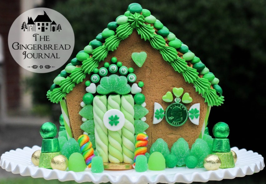 gingerbread house St. Patrick's Day 2015-24wm