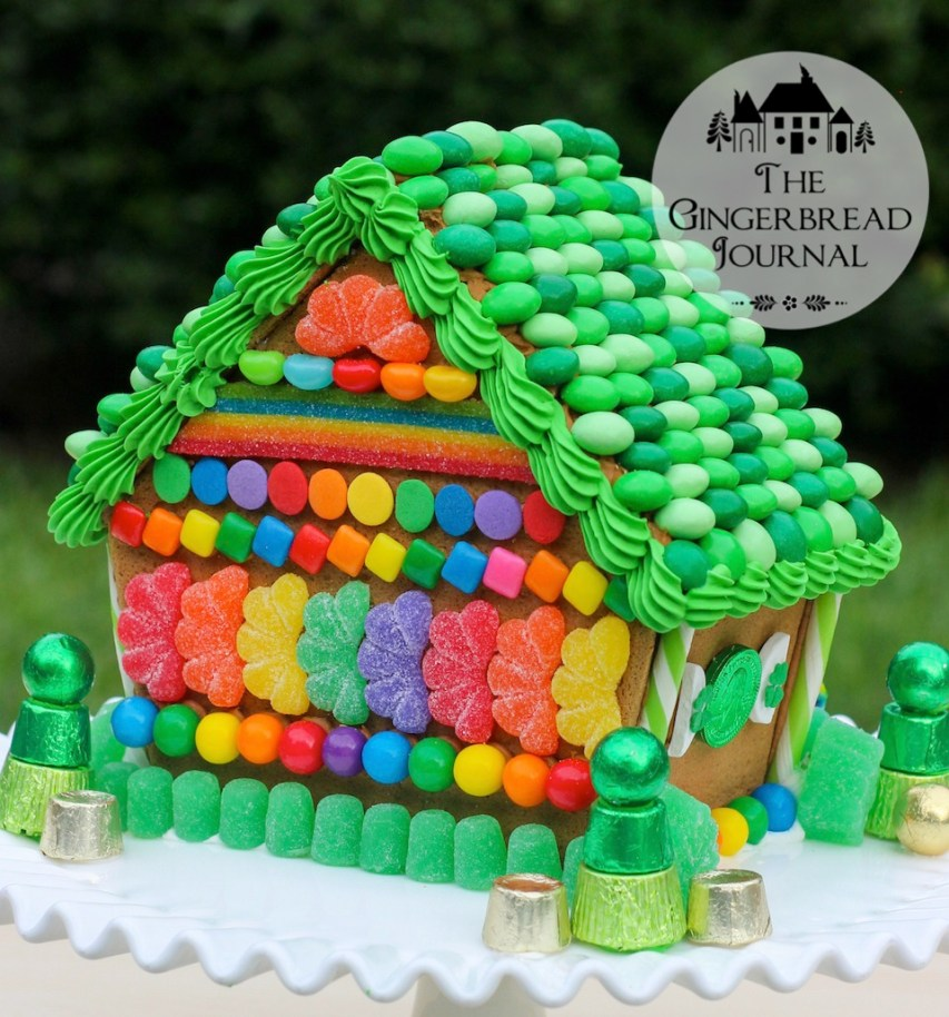 gingerbread house St. Patrick's Day 2015-29wm