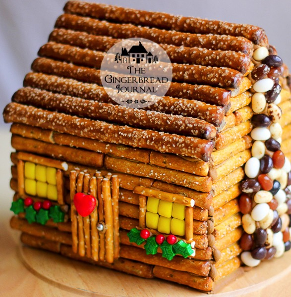 Gingerbread House The Gingerbread Journal How To Make A Festive