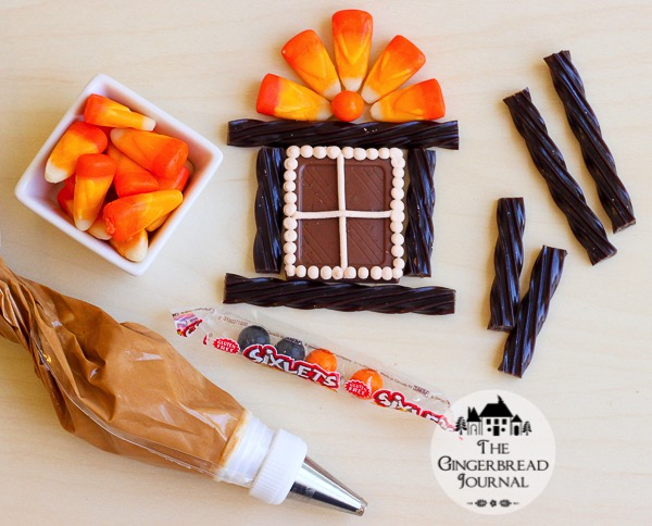 Halloween Gingerbread House Tutorial