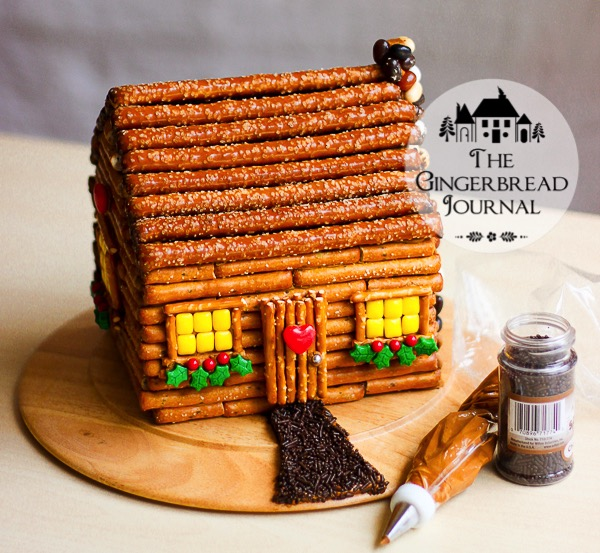 gingerbread house log cabin-2wm