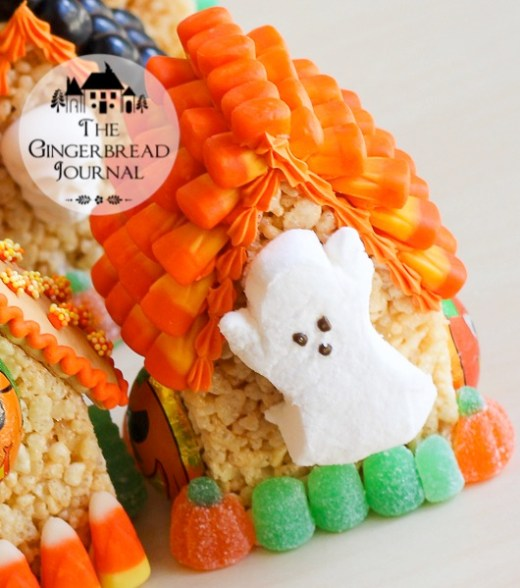 Halloween MIni Houses - Rice Krispie Treat-13wm