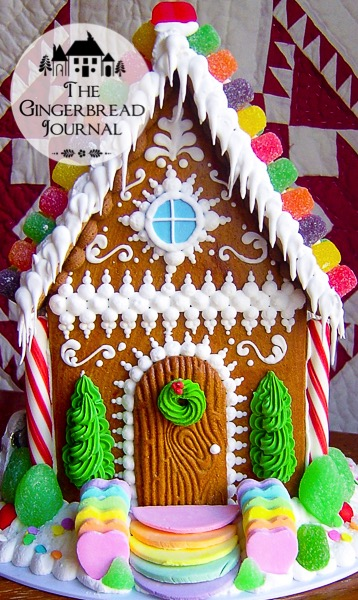 Gingerbread house the gingerbread journal the for Gingerbread house decorating ideas