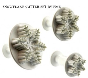 snowflake cutter set by PME