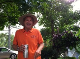 Founder of Crystal Coast Organics