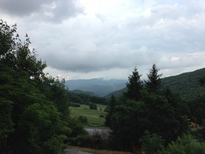 Meditation View from Blue Ridge Mountains, NC