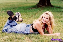 Ginger Lynn backyard at home