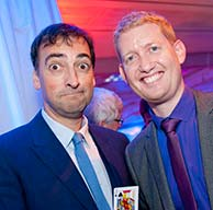 Alistair McGowan with Damian Surr - Gingermagic (small)