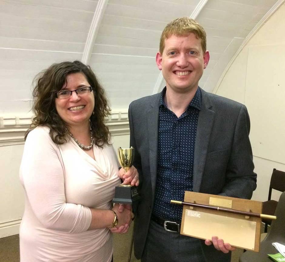 Bath Magician of the Year 2015 - Damian Surr (Gingermagic)