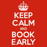 How far ahead should I book? - Book Early