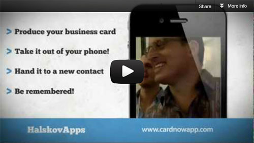 Business Card Magic App - Card Now