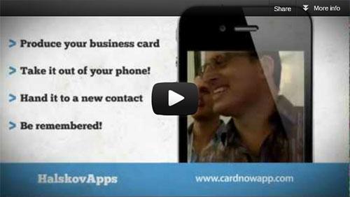 Business Card Magic App - Card Now