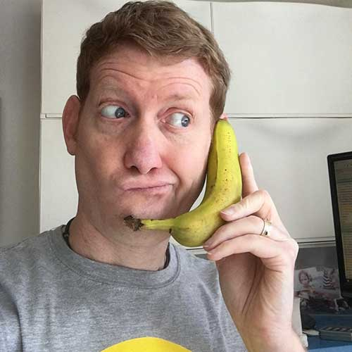 Damian on the Phone - Let's Talk
