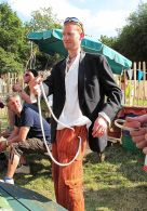Glastonbury Festival Magician - Gingermagic