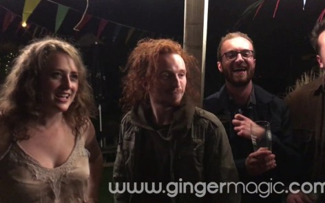 Gingermagic TV - Gingermagic - Magician Bristol - Damian Surr