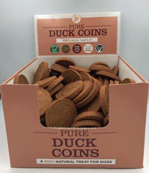 JR Pets Pure Duck Coins
