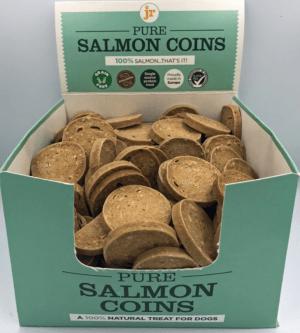 JR Pets Pure Salmon Coins