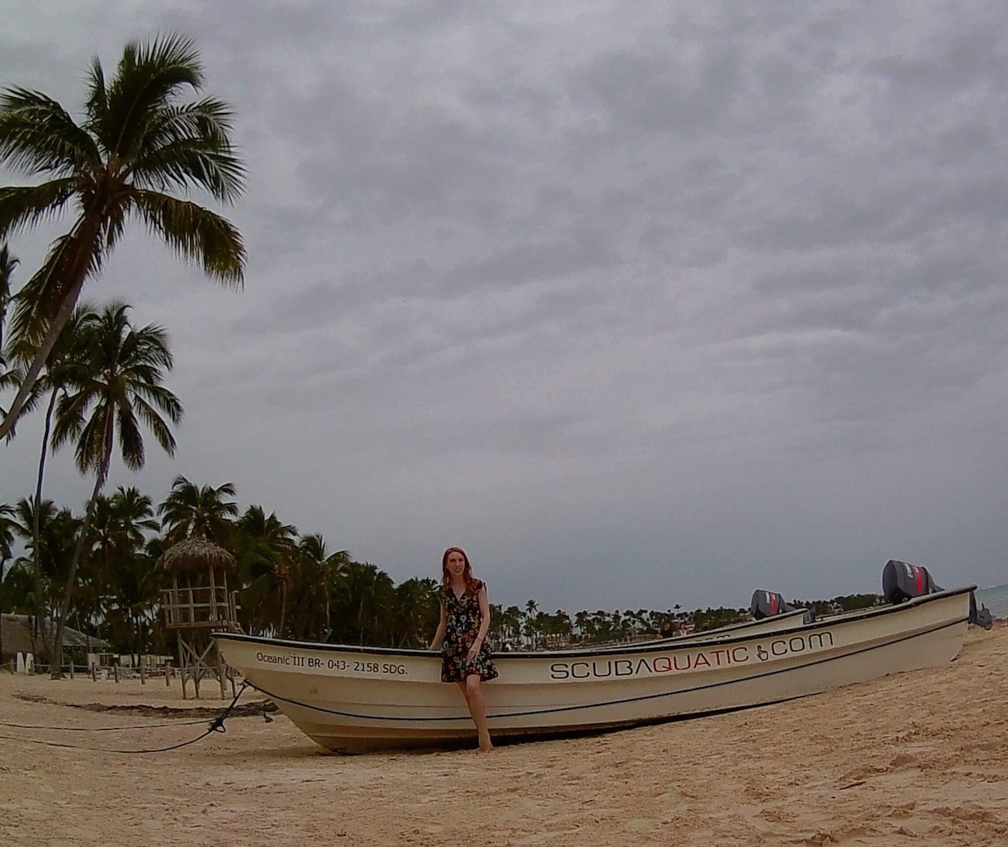 Boat Bavaro Beach