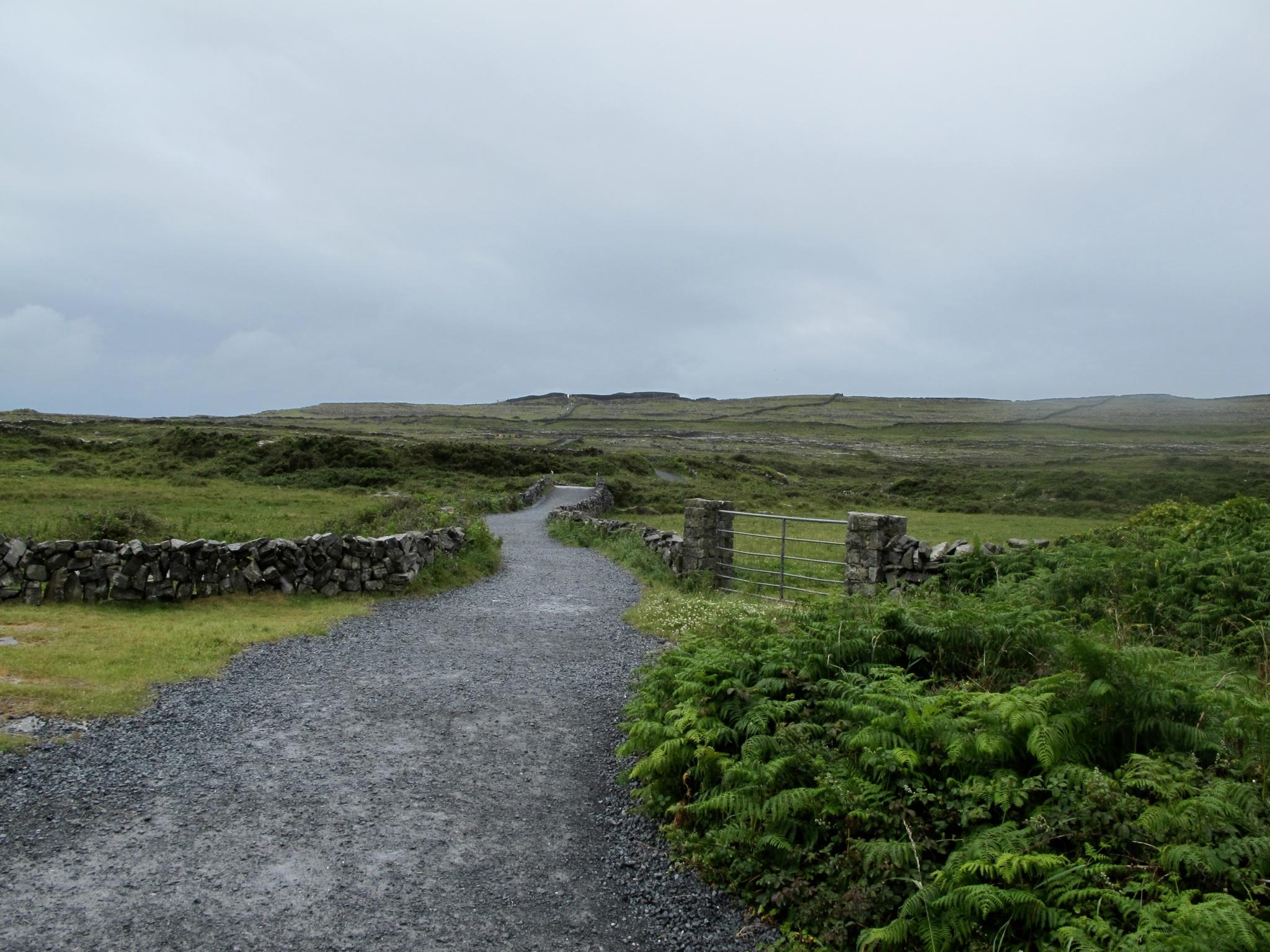 Inis Mor Road Aran Islands