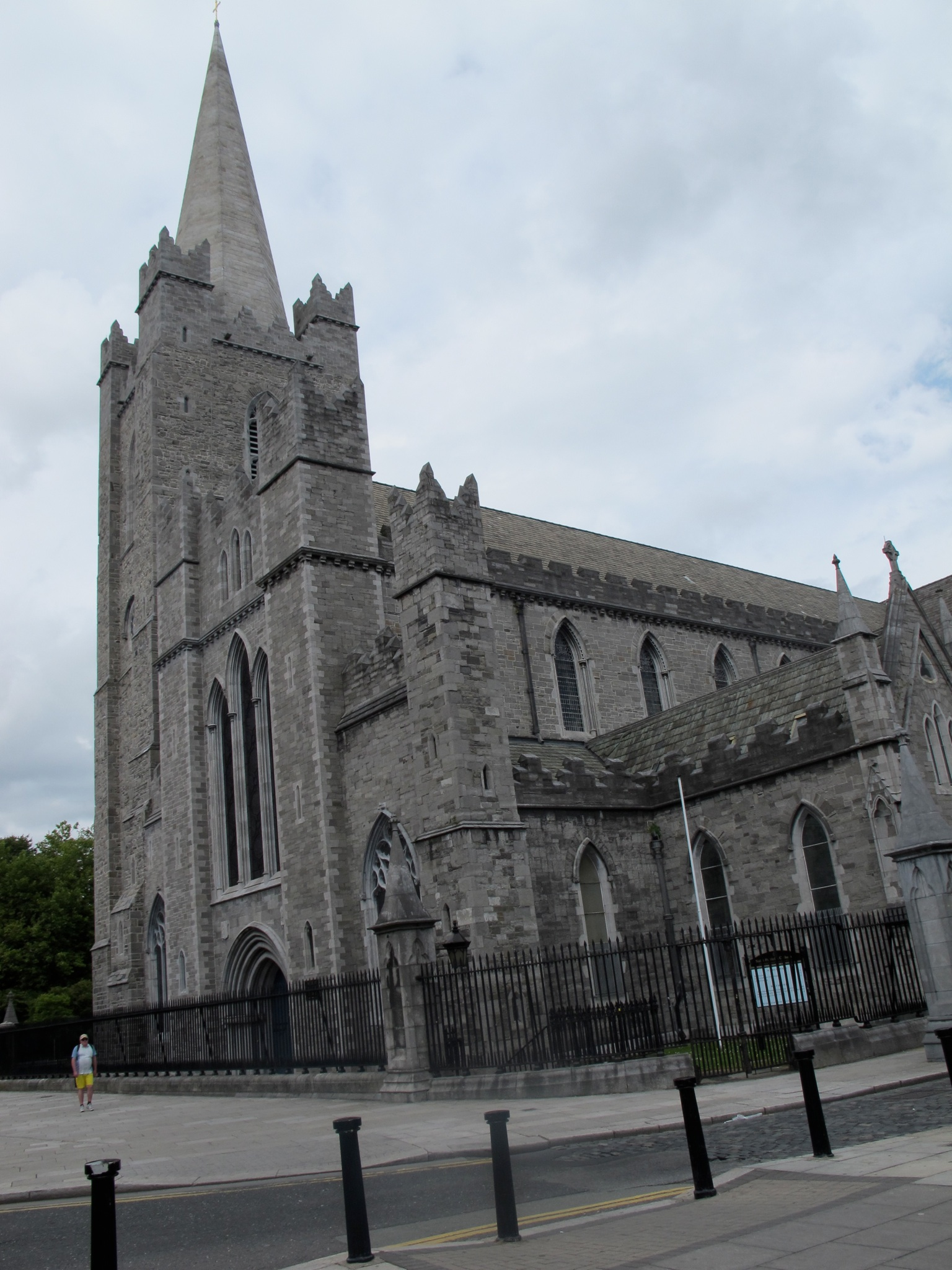 St. Patrick's Cathedral in Dublin, open to tourists and those looking for a place to pray and worship.