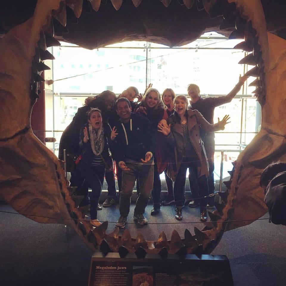 Jaws Group Photo Aquarium