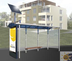 SOLVIS Serie PV per fermate d'autobus