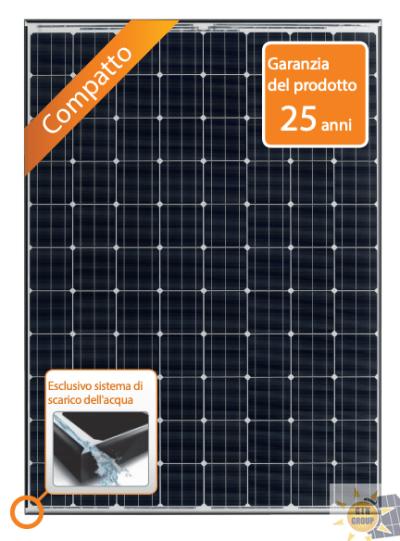Modulo fotovoltaico HIT® VBHN295SJ46