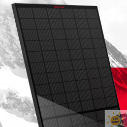SWISS SOLAR IBEX 120MHC-DUO-BLACK