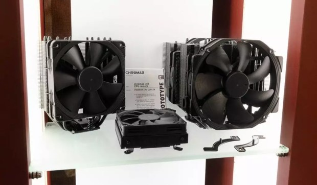 Versions noires des NH-D15 , NH-U12S et NH-L9i