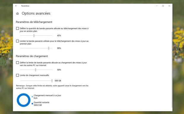 Windows 10 et la fonction « Optimisation de livraison »
