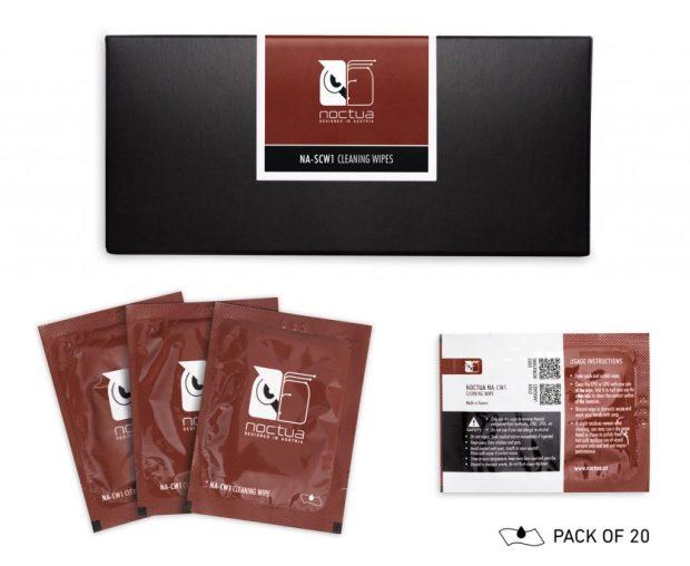 Pack de 20 lingettes nettoyantes NA-SCW1 de Nuctua