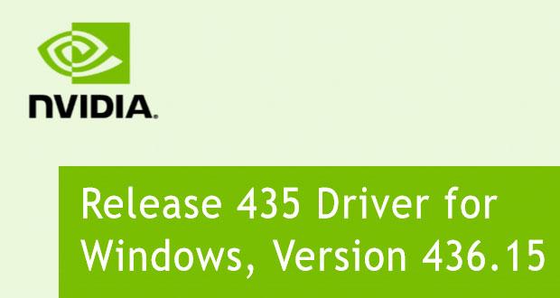Les GeForce 436 15 WHQL débarquent, quoi de neuf