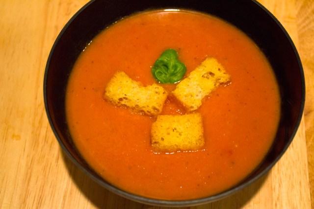 Creamy Tomato Soup - Angle
