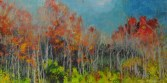 Red Tree Line oil     24x48
